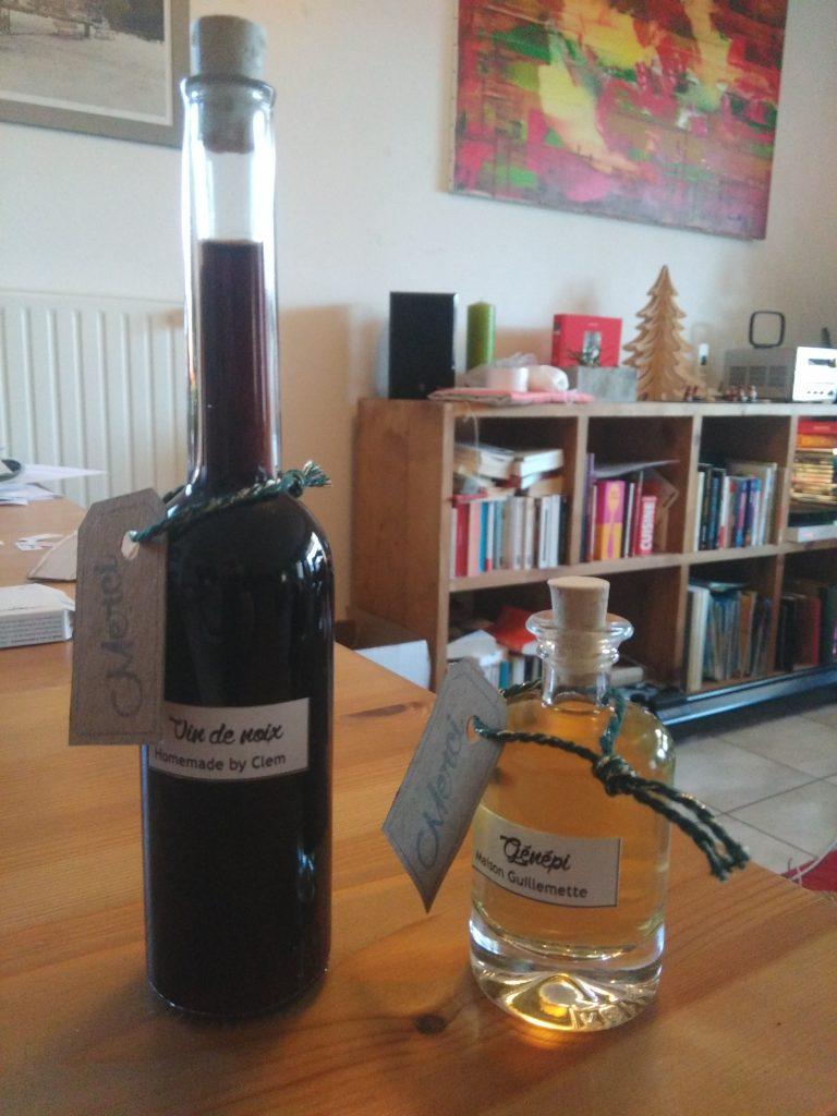 Cadeaux d'invités d'hiver de Mme Croisé