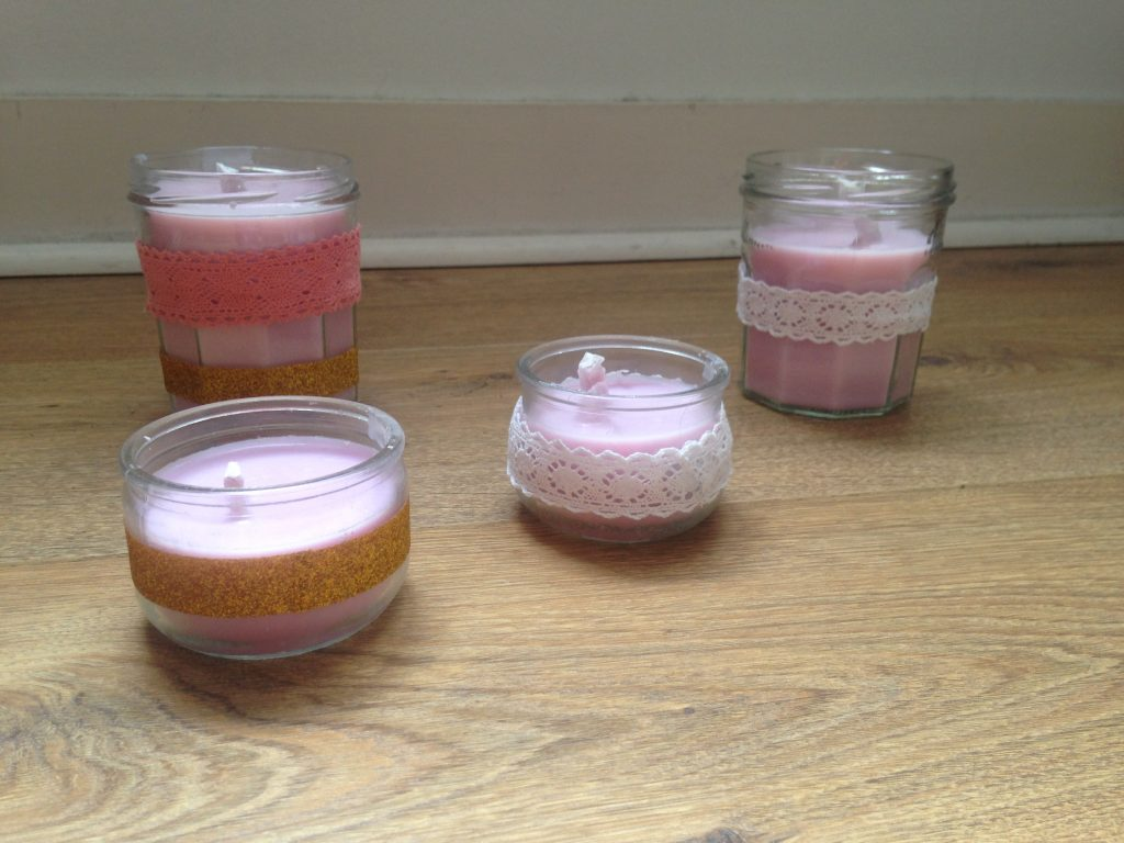 Tuto bougies DIY