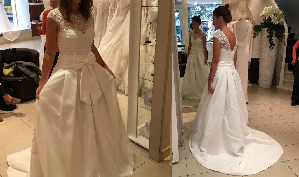 Mes essais indécis de robes de mariée