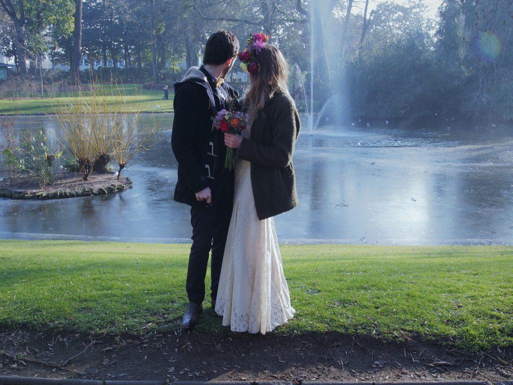 Séance photo mariage Mme Loup