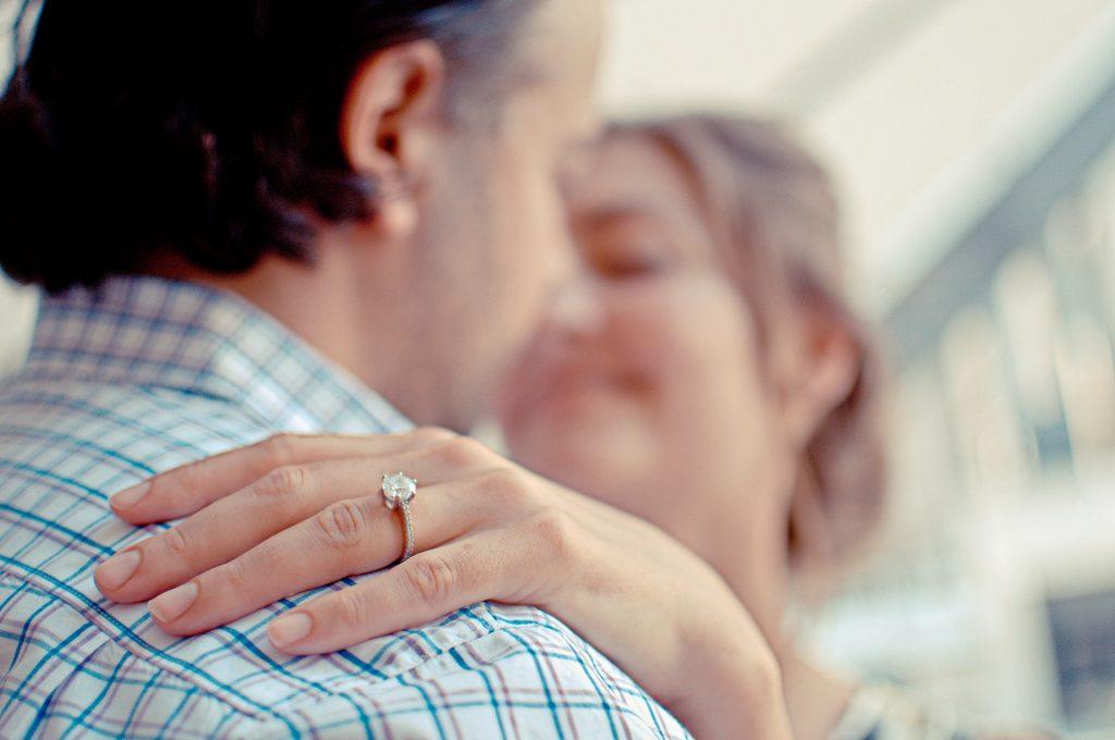 Couple fiançailles