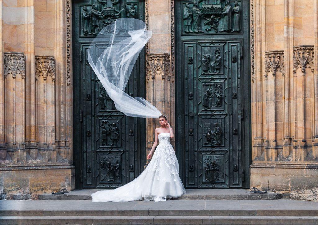 Essayages robes de mariée sirène
