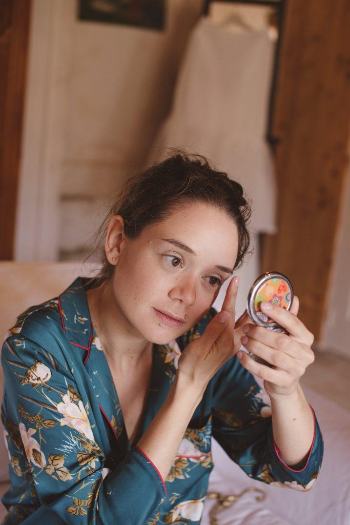 Mes préparatifs du matin // Photo : La Femme Gribouillage