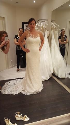 Essayages robe de mariée