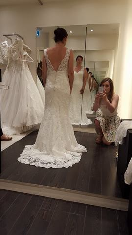 Essayages robe de mariée