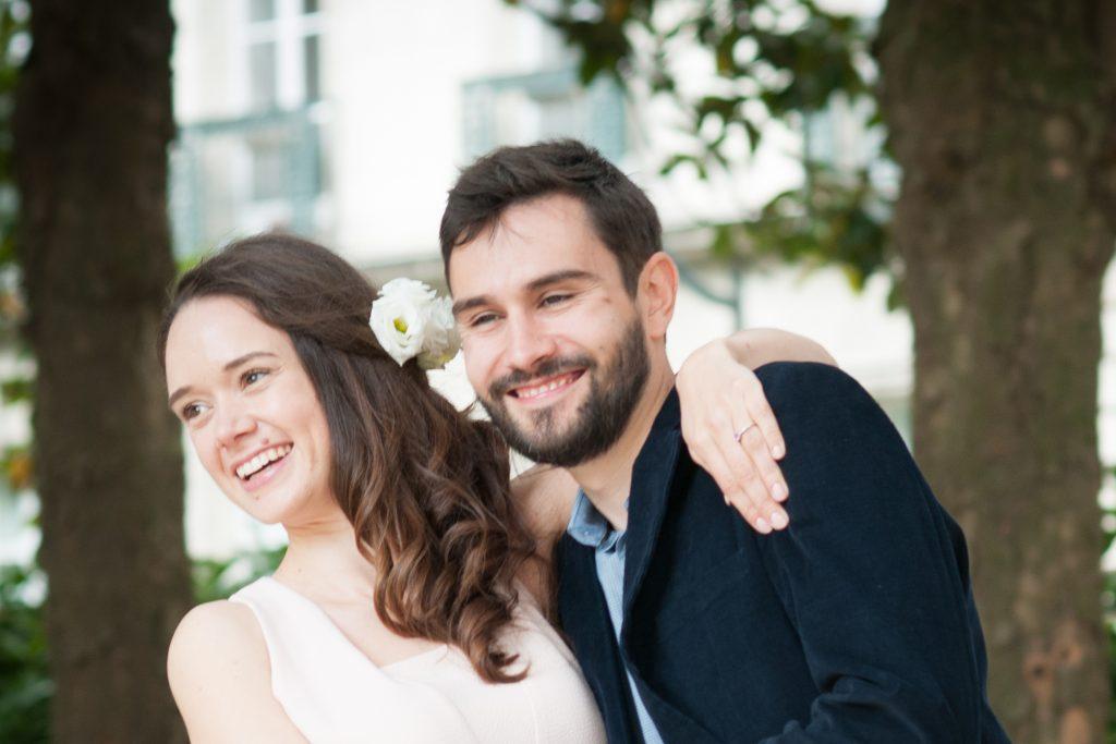 Notre journée de mariage civil