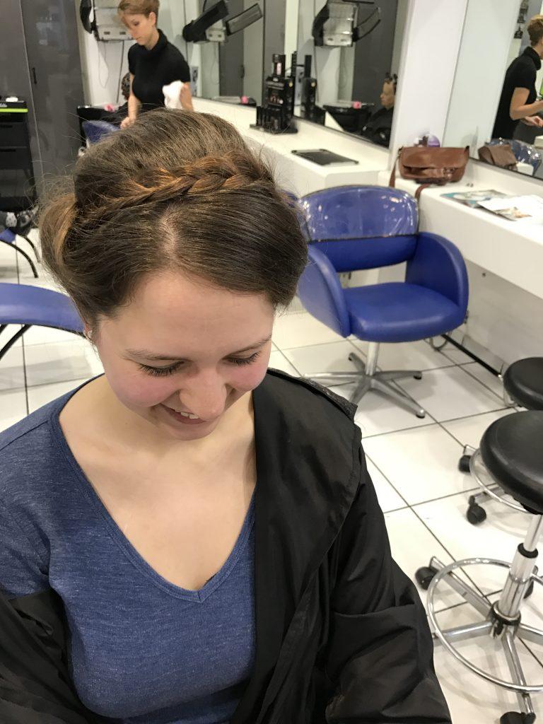 Mes essais coiffure de mariage