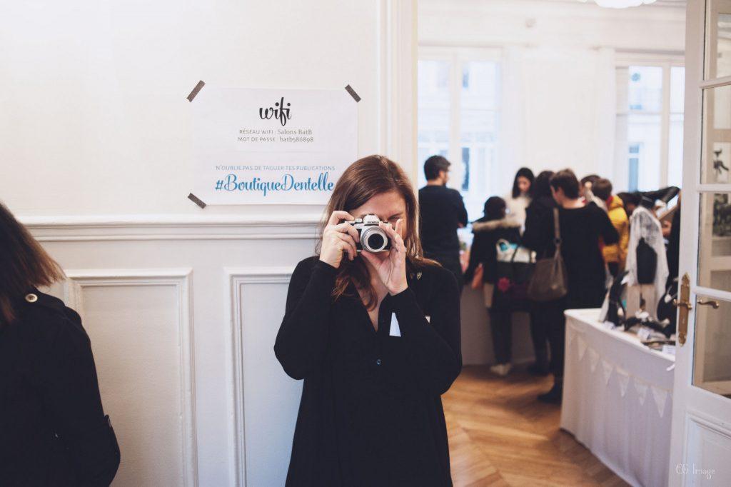 La boutique éphémère de Mademoiselle Dentelle - Crédit photo CG Image