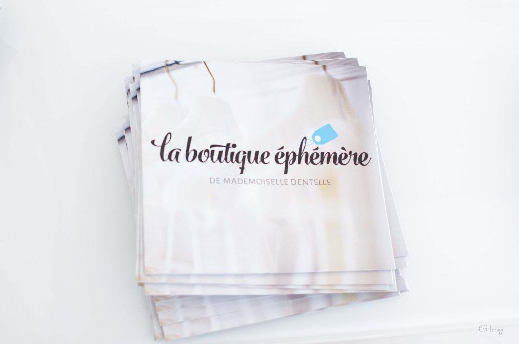 La boutique éphémère de Mademoiselle Dentelle 2 - Crédit photo : CG Image