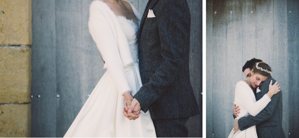 Photos de couple hiver // Photos : Aude Arnaud Photography