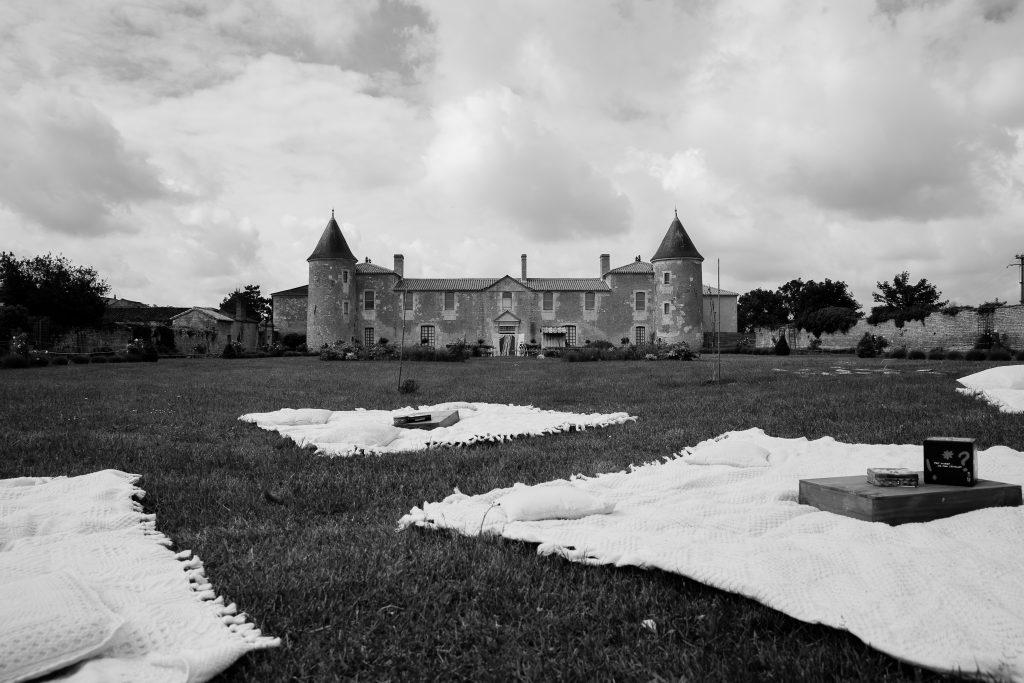 Jeux d'extérieur mariage champêtre // Photo : La Femme Gribouillage