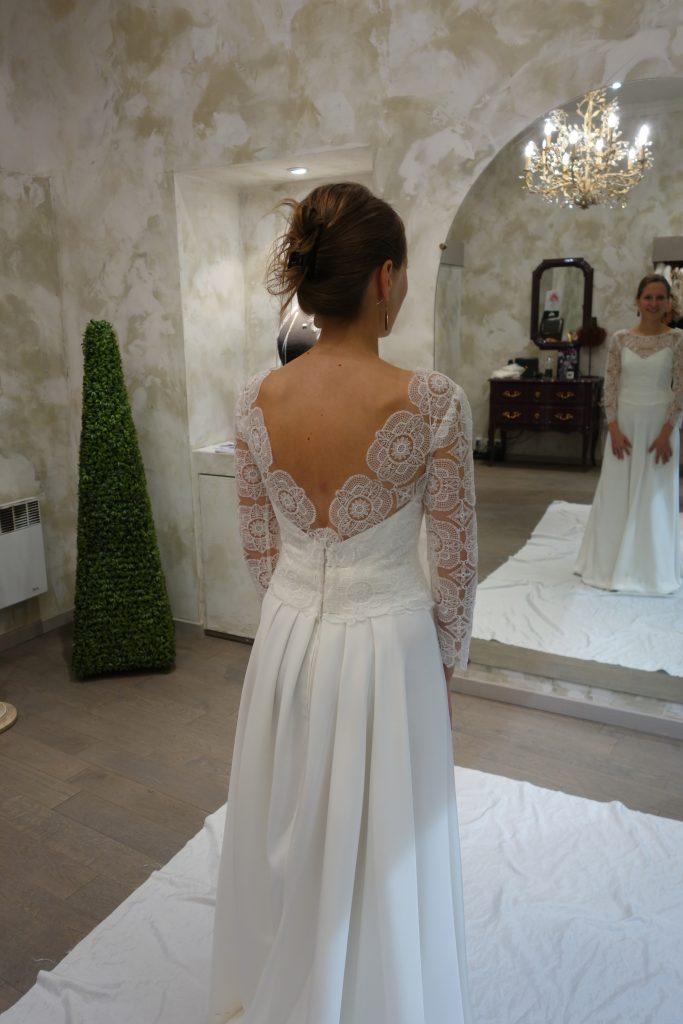 La création sur mesure de ma robe de mariée