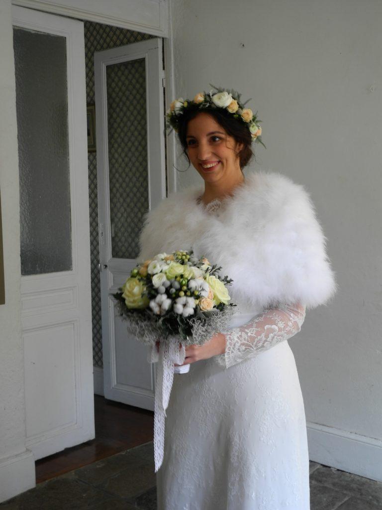 Budget de mariage détaillé : cape mariée