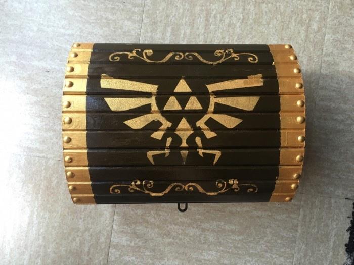 DIY : urne coffre Zelda
