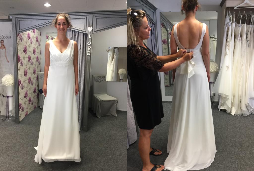 Recherche de robe bohème avec haut en dentelle