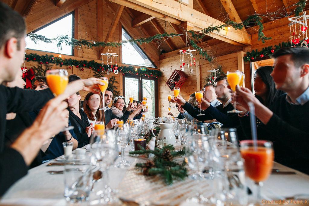 Notre repas de mariage civil // Photo : Margaux Vié Studiohuit
