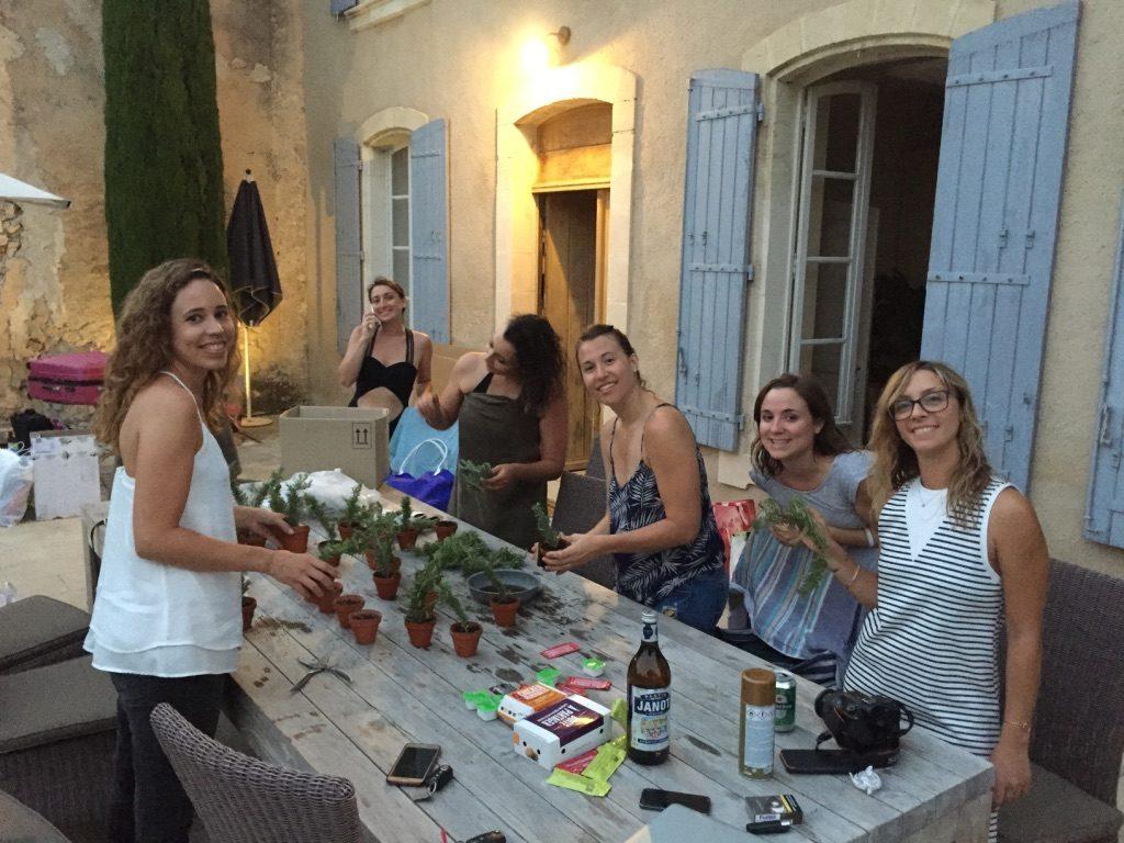 La veille et le matin de notre mariage en Provence