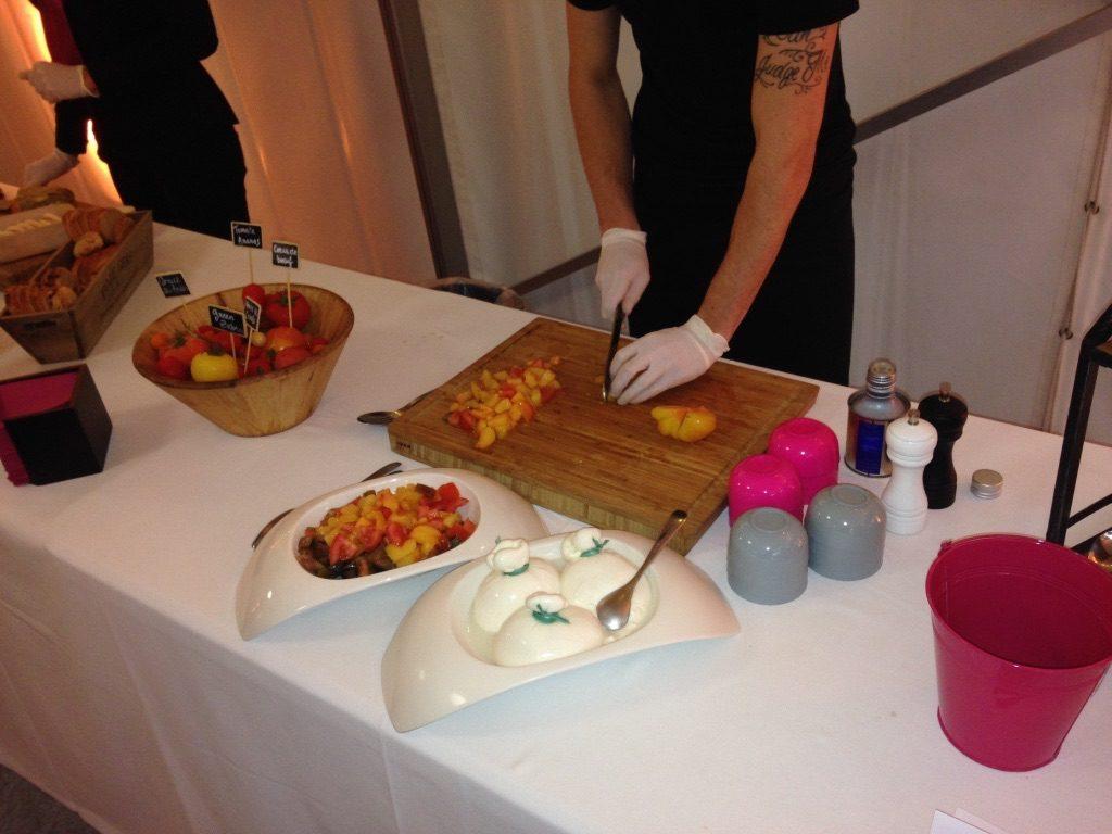 Goûter pour choisir notre repas de mariage