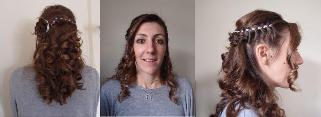 Mes essais maquillage et coiffure