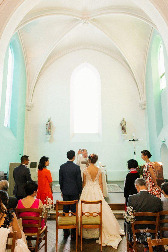 Notre cérémonie à l'église // Photo : Pam est là - photographe