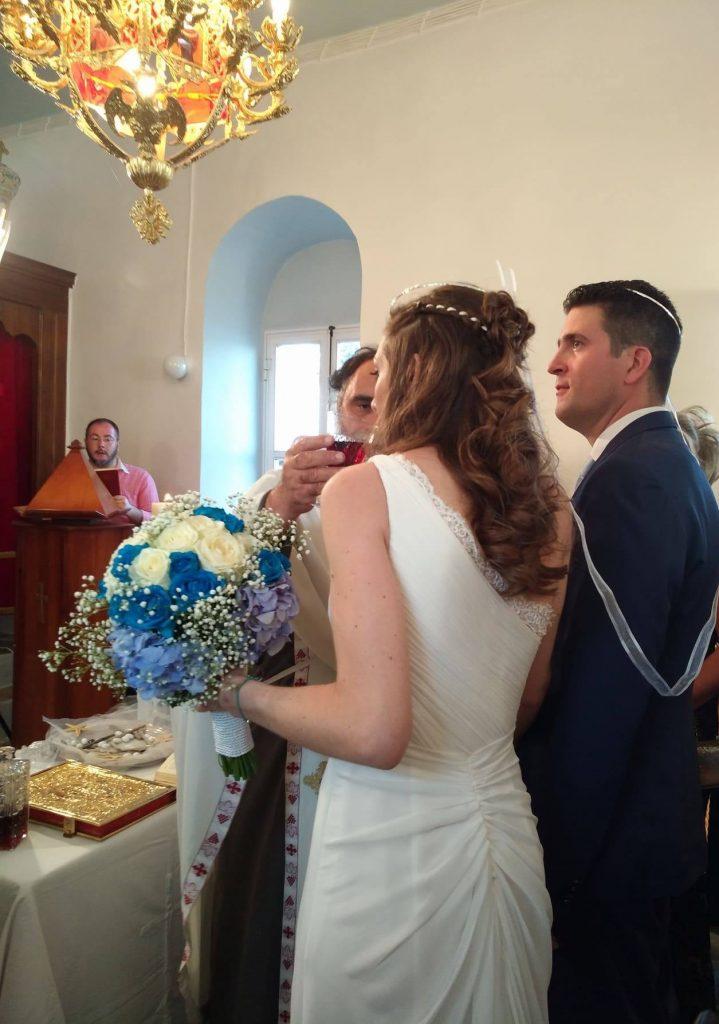 Notre cérémonie de mariage grec orthodoxe