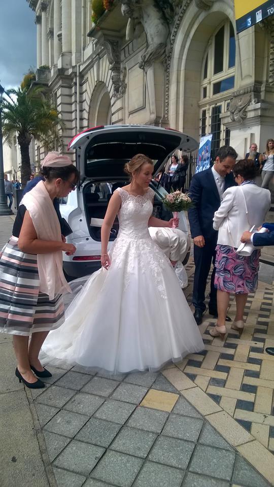 Cérémonie de mariage à la mairie de Tours