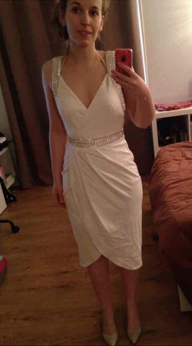 Ma robe pour le lendemain du mariage // Photo : @stephusa35