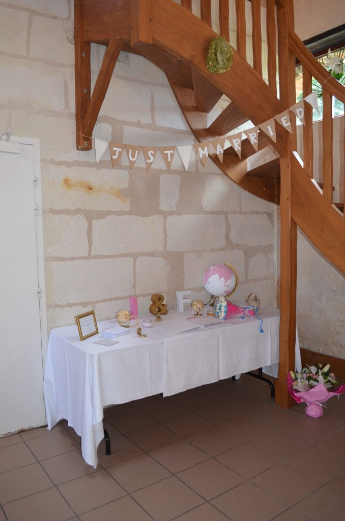 Décoration de ma salle de mariage // Photo : @stephusa35