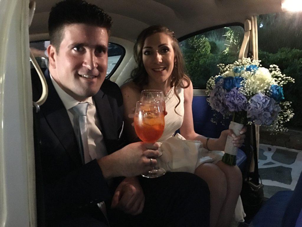 La soirée de notre mariage grec et les discours