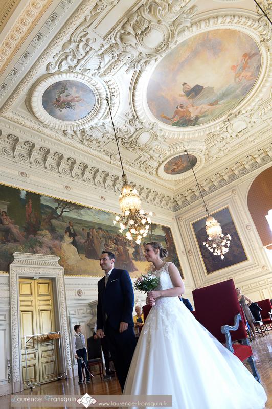 Cérémonie de mariage à la mairie de Tours // Photo : Laurence Fransquin