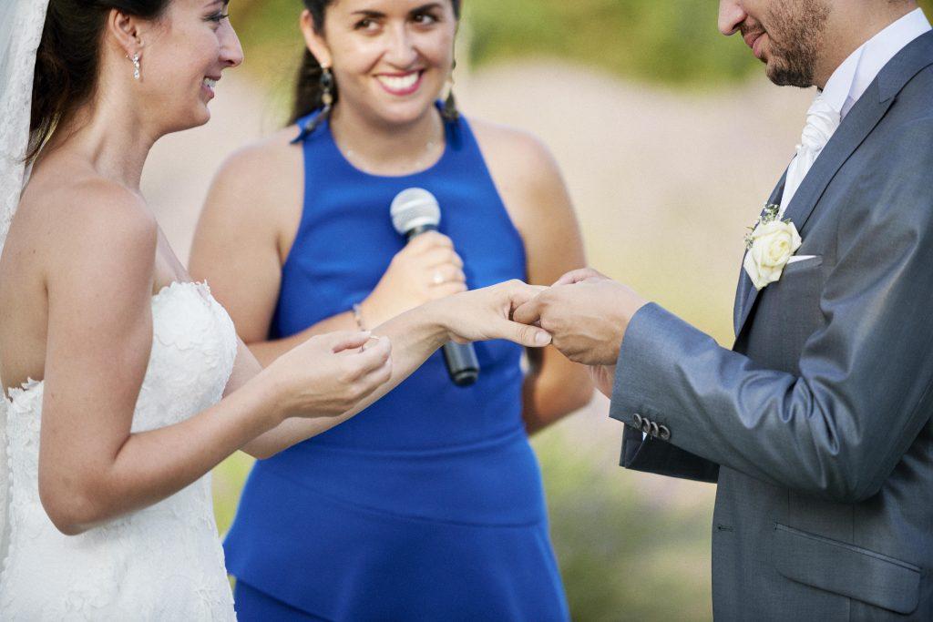 Ma cérémonie laïque très émouvante // Photo : Happy People