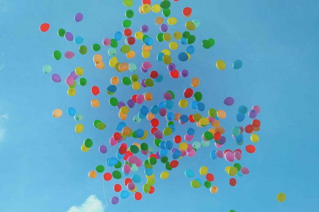 Idées abandonnées pour le mariage : lancer de ballons