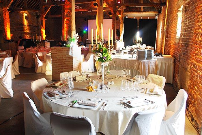 Ferme de Moriensart salle de reception mariage Belgique