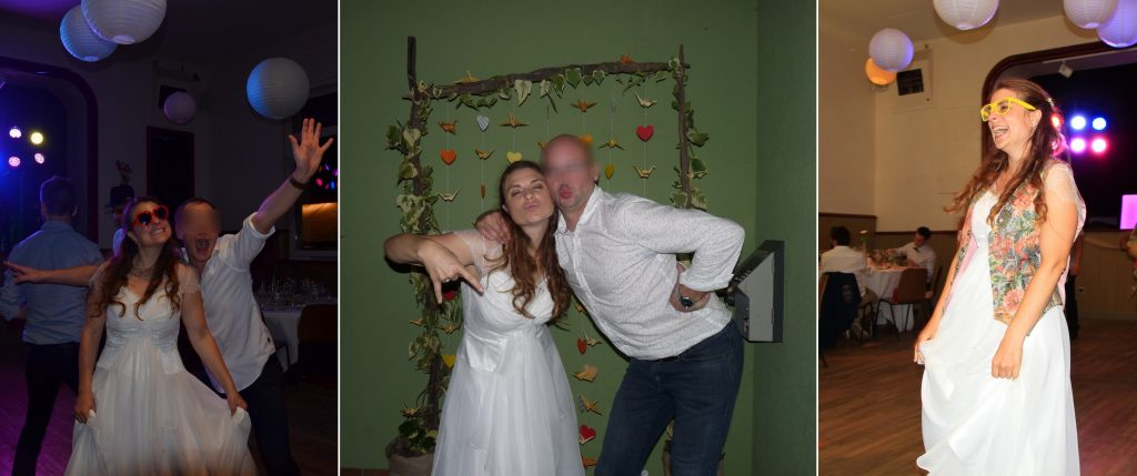 La soirée de mon mariage, où tout ne se passe pas comme prévu !