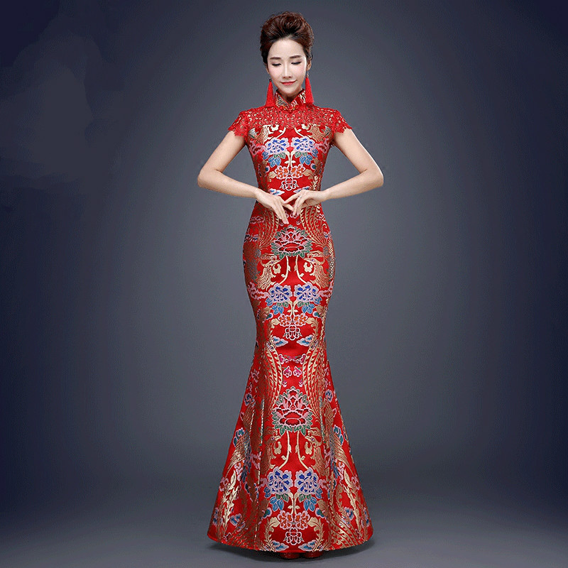 Robe de mariage chinoise