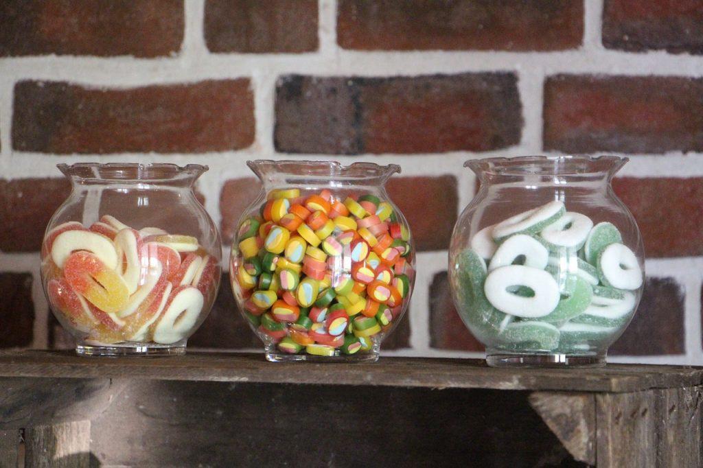 Idées abandonnées pour le mariage : candy bar