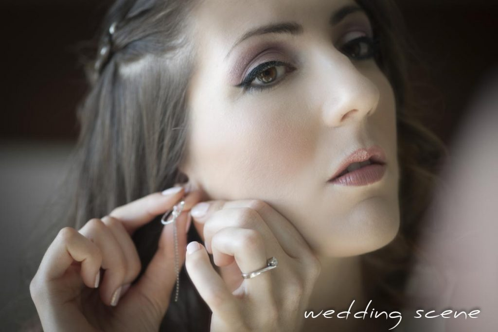 Mes petits regrets de mariage : mon maquillage // Photo : Wedding Scene