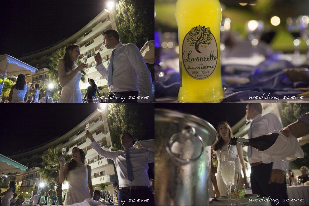Notre cocktail de mariage grec // Photo : Wedding Scene