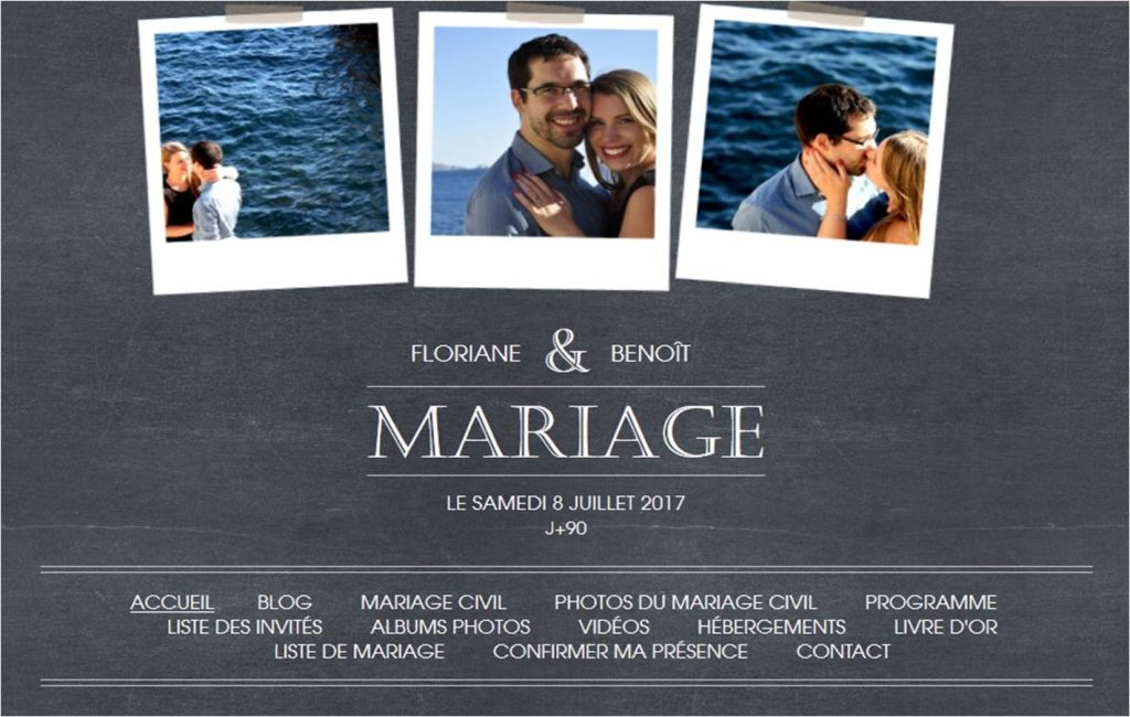 Créer un site Internet de mariage