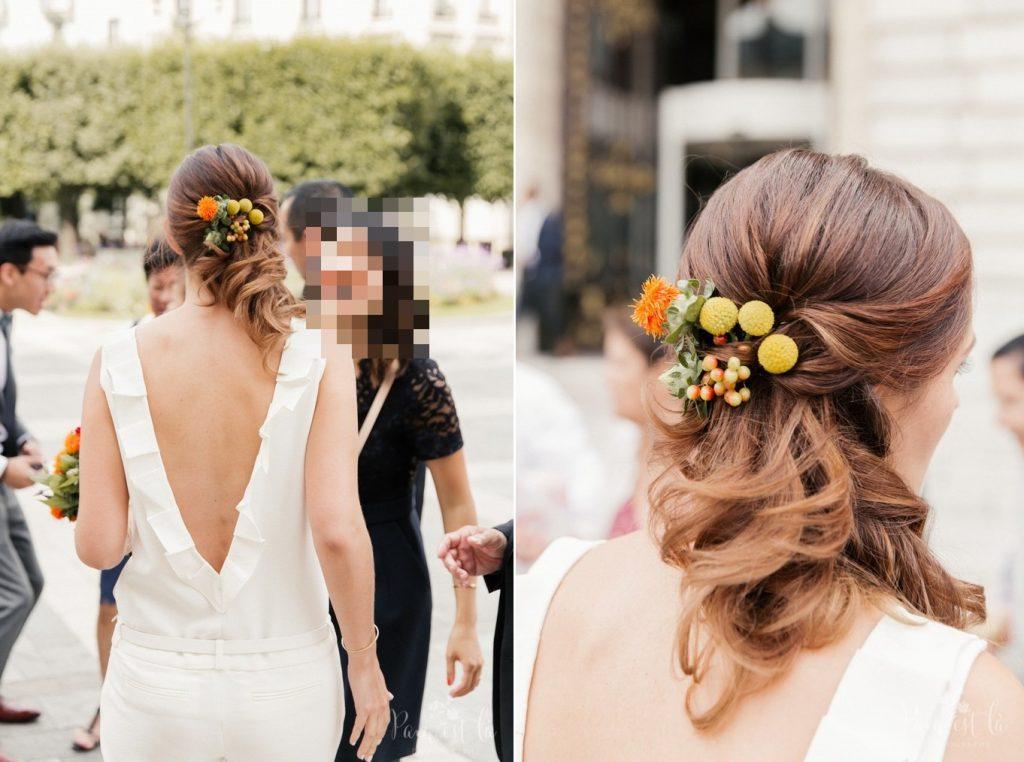 Mon mariage à la mairie // Photos : Pam est là - Photographe