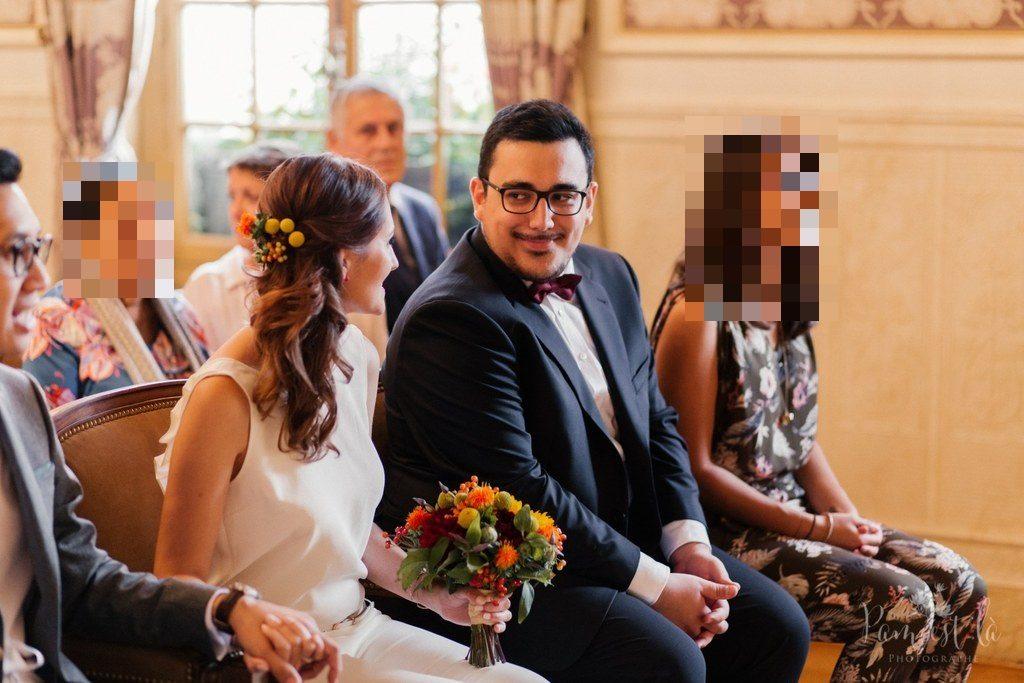 Mon mariage à la mairie // Photo : Pam est là - Photographe