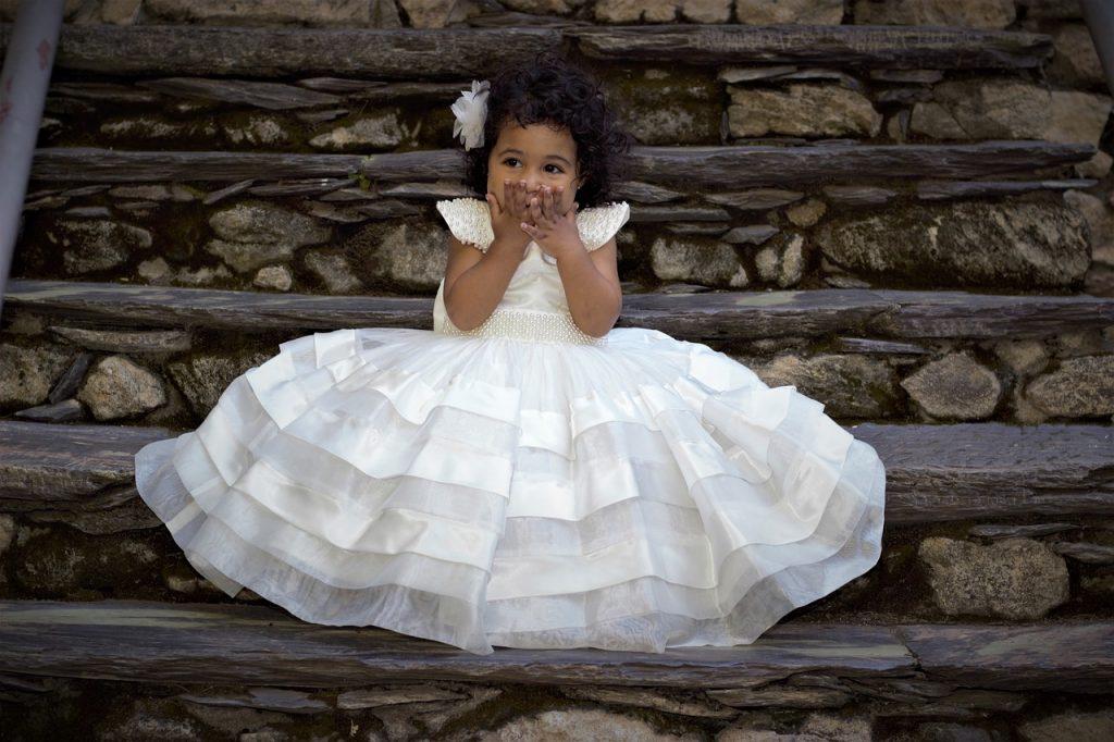 Robe de mariée rêve de petite fille