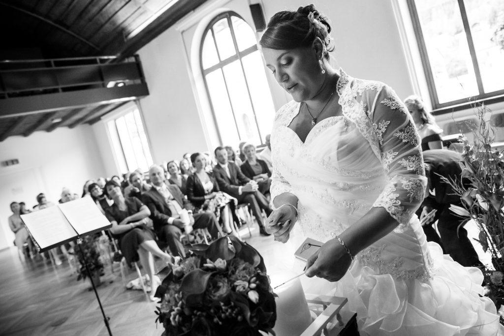 Notre cérémonie laïque : nos chants et discours // Photo : Isabelle Chatellier