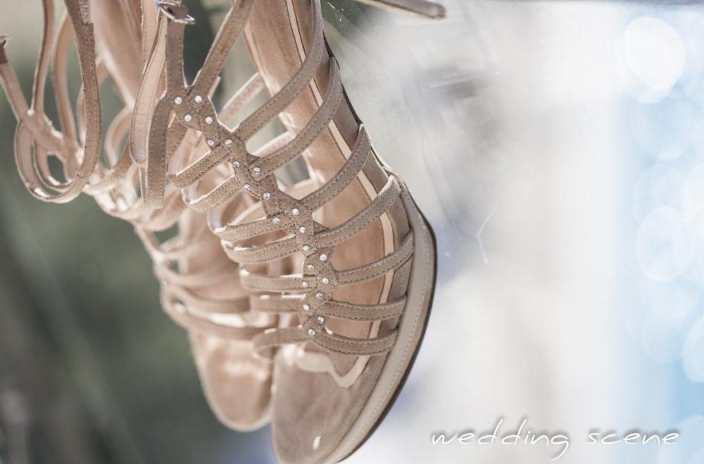 Mes chaussures de mariée grande taille sur mesure // Photo : Wedding Scene