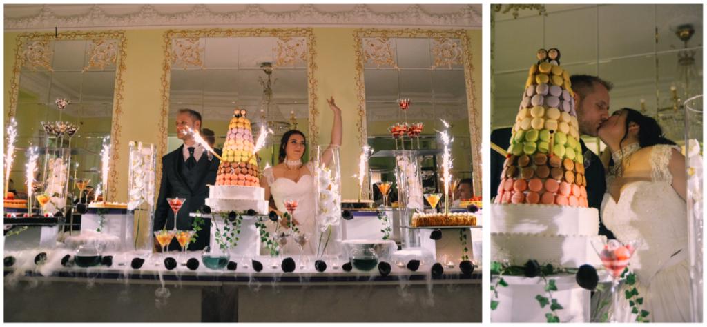 L'arrivé du buffet de desserts et notre ouverture de bal // Photo : La vie en HD