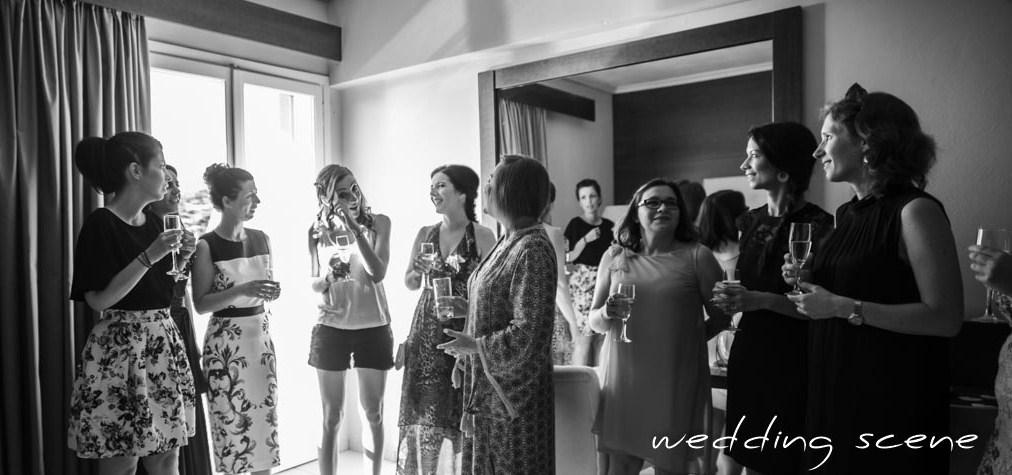 Mes préparatifs du matin pour mon mariage en Grèce // Photo : Wedding Scene