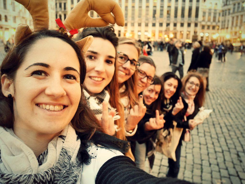EVJF pole dance et gages à Bruxelles