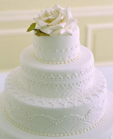Un gâteau de mariage… à l'américaine