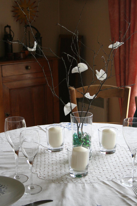 Tu m'aides à choisir la déco des tables pour le repas de mariage ?