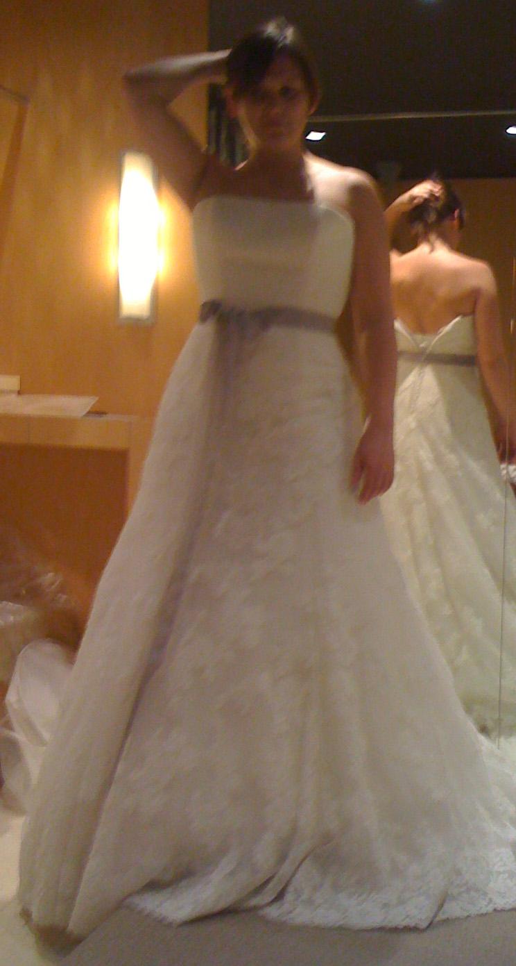 La saga de la robe de mariée – 3ème partie